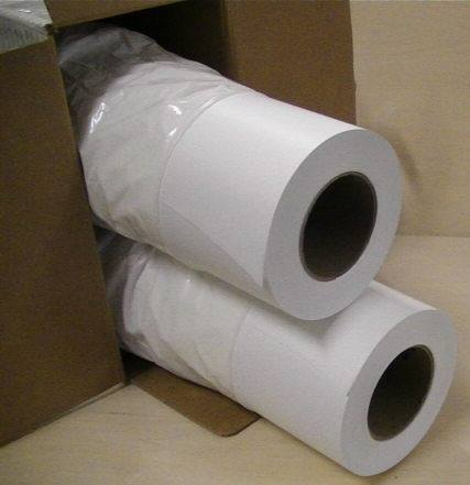 hộp giấy bảo quản hai cuộn giấy sơ đồ trắng