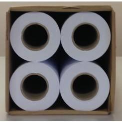Hộp giấy đựng bốn cuộn giấy sơ đồ trắng