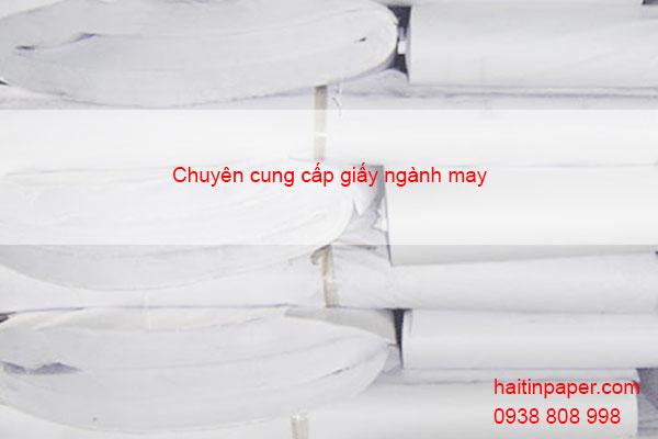 Tìm mua giấy ngành may mặc dễ dàng tại tphcm